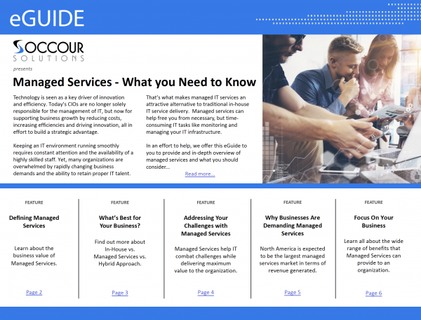 Managed Services E-Guide